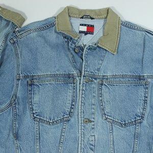 Tommy Hilfiger Jackets & Coats - Vintage Tommy Hilfiger Jean Denim Trucker Jacket M